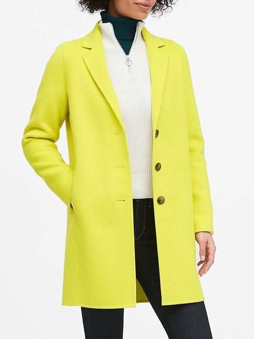 banana republic coats