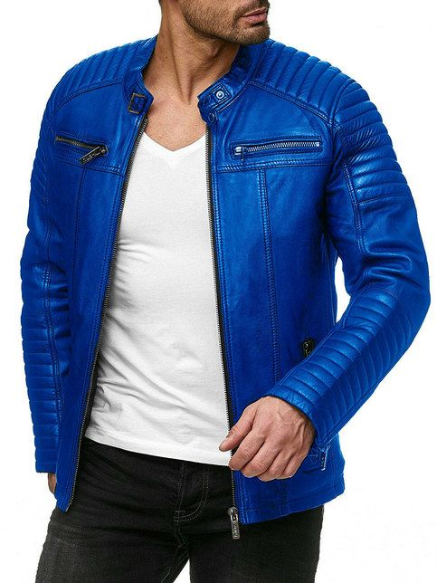 blue jackets for men