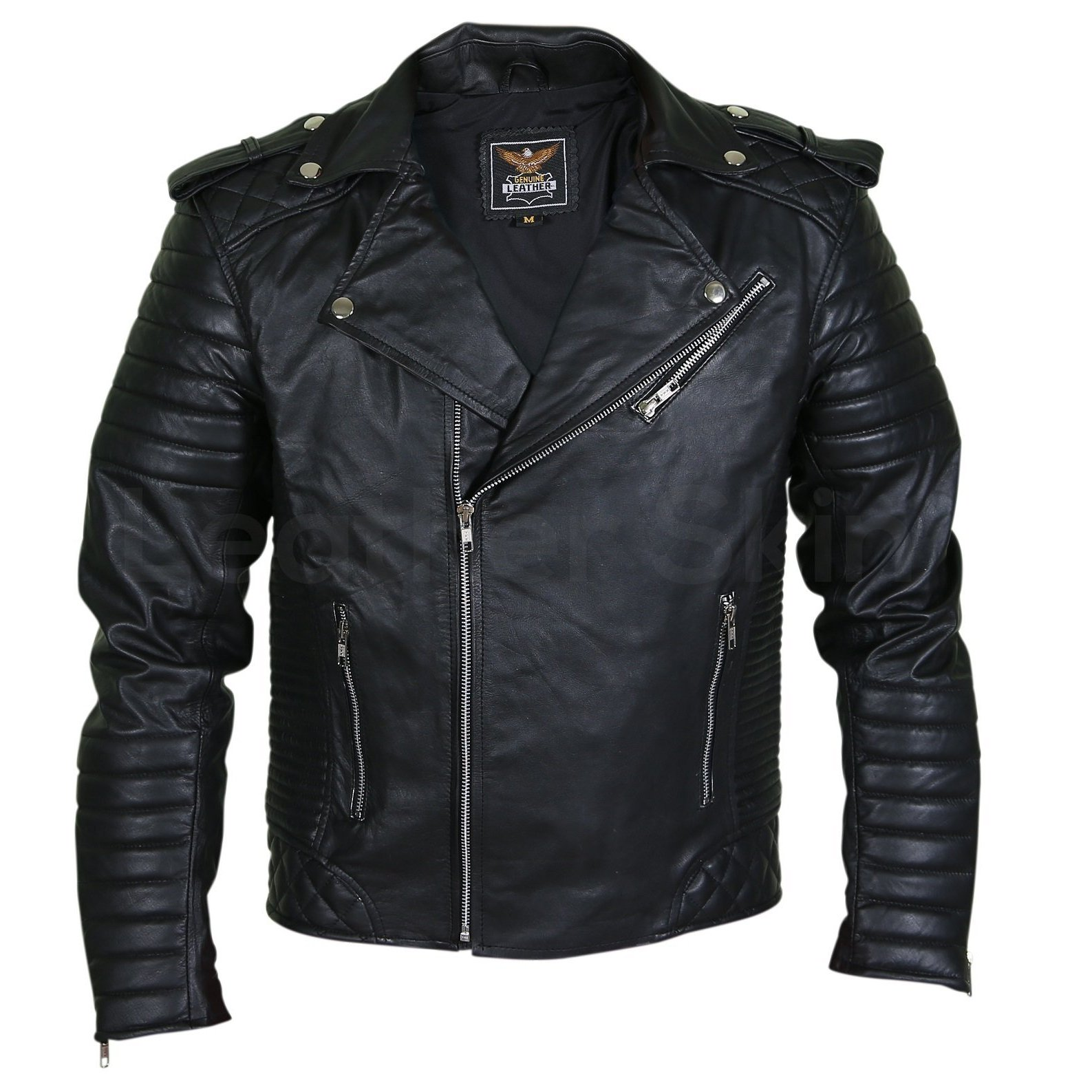 genuine leather motorcycle jackets