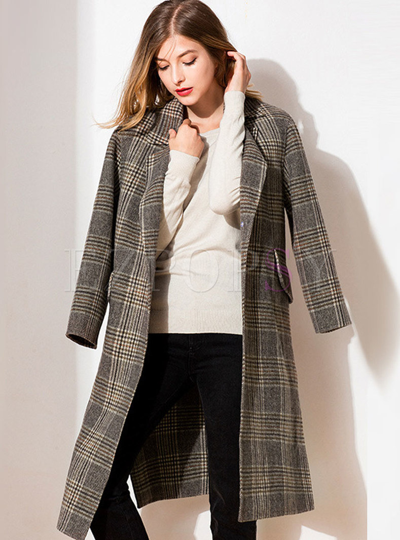 plaid coats & jackets